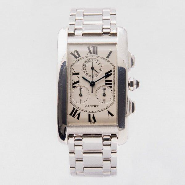 Cartier Tank Américaine Chronograph