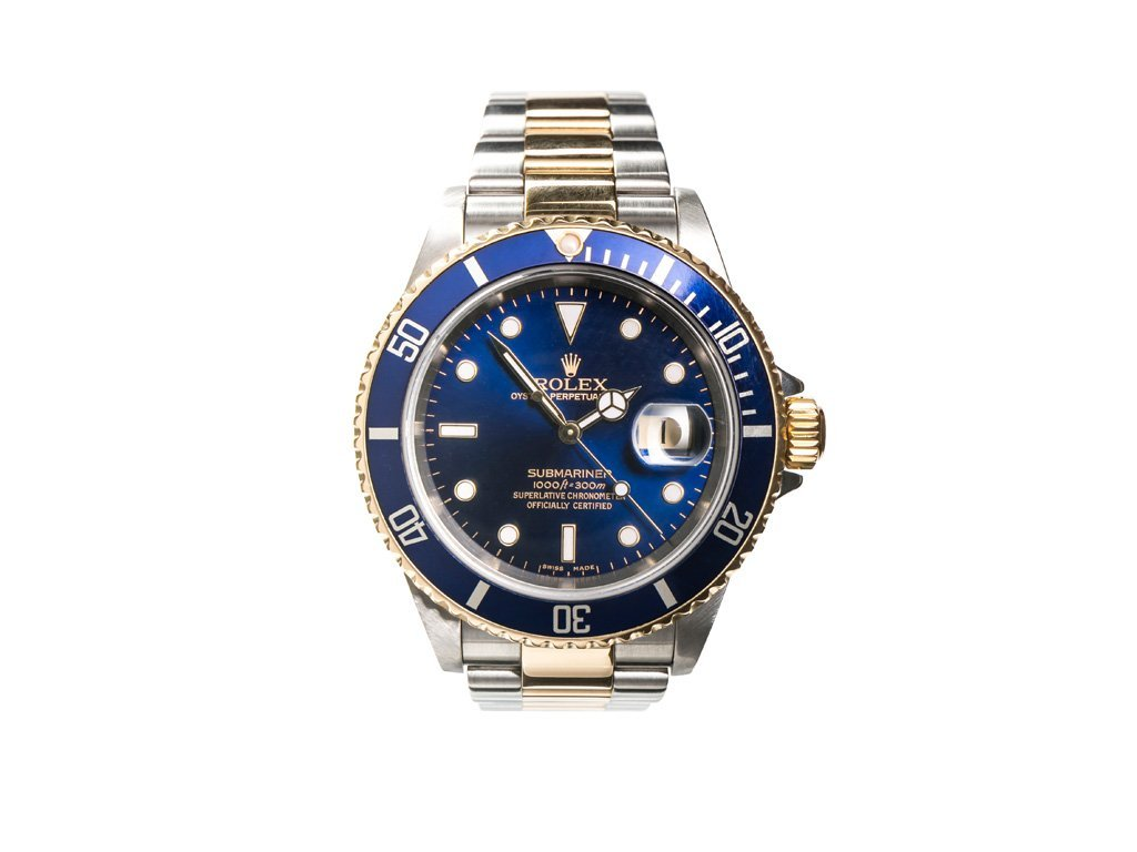 Rolex Submariner Steel And Gold