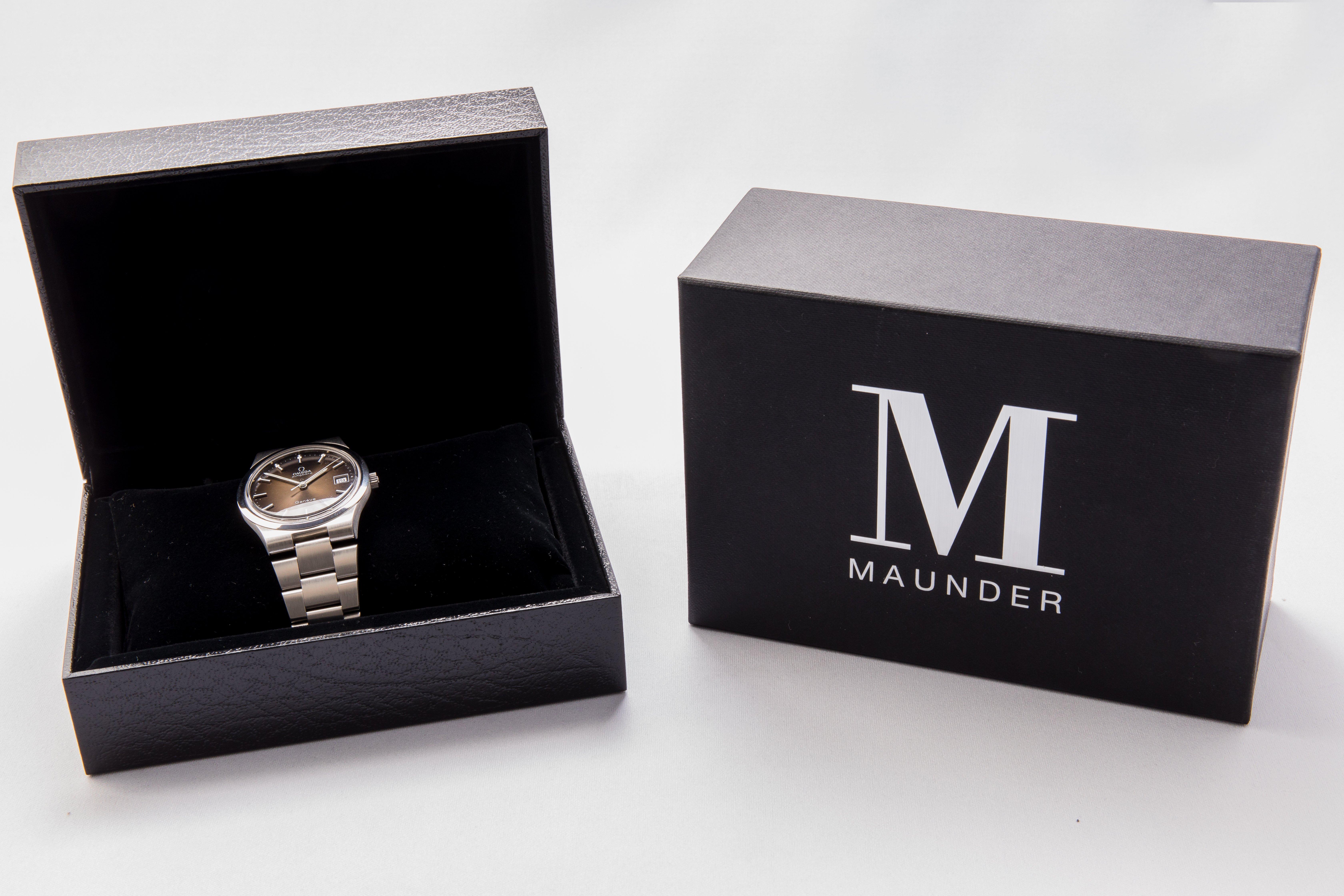 nouveau concept a71e2 9cf00 Vintage Omega Geneve - Maunder Watch Co.
