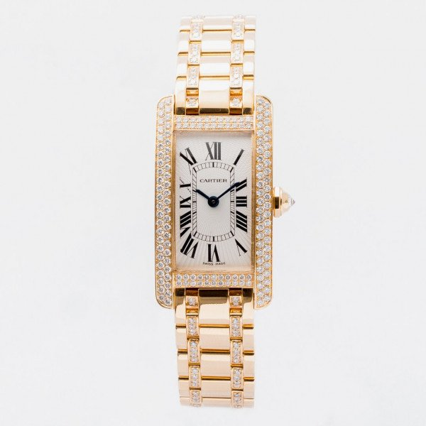Cartier Tank Américaine Diamond Set