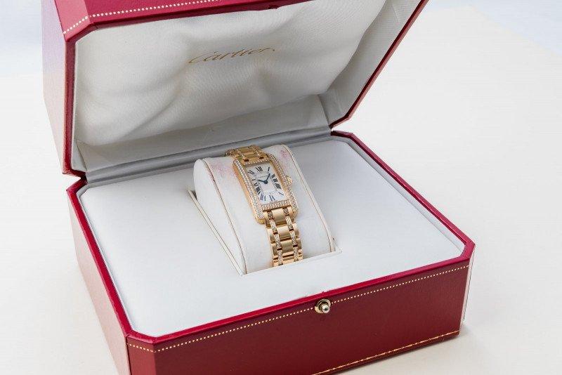 Cartier Tank Américaine Diamond Set