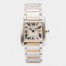 Cartier Tank Francaise Gold and Steel