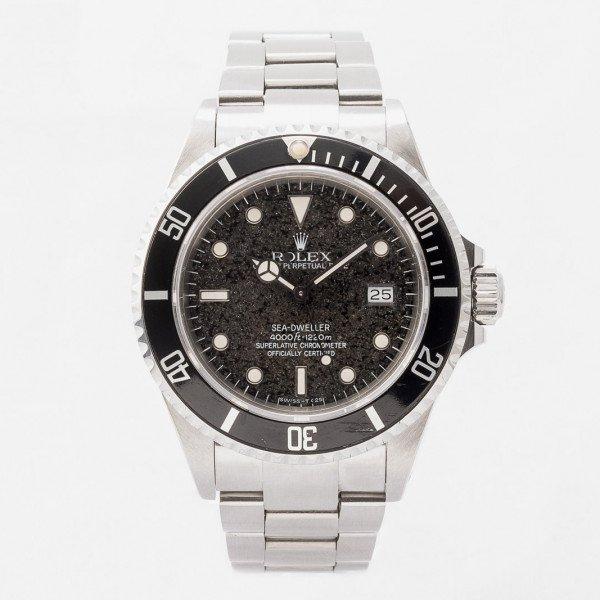 """Rolex Sea Dweller 16660 """"Tropical Dial"""""""